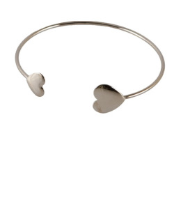 Bracelete prateado Delicate