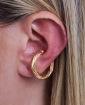 Piercing fake dourado Rubi