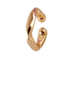 Piercing fake dourado Lírio