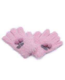 Luva infantil rosa Candy