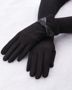 Luva de tecido preta Meinke