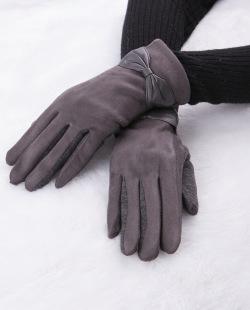 Luva de tecido cinza Meinke