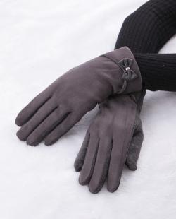 Luva de tecido cinza Lisboa