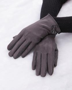 Luva de tecido cinza Suíça