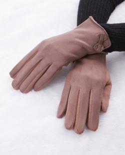 Luva de tecido marrom Suíça