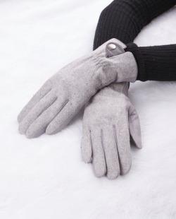 Luva de tecido cinza Nine