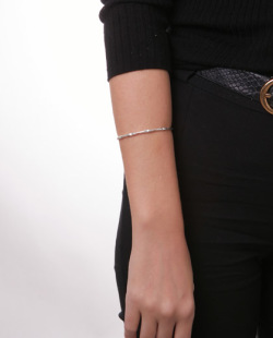 Bracelete prateado Liza