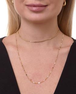 Mix de bijuterias douradas Bivik