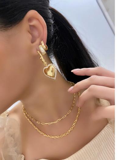 Mix de bijuterias douradas Ryo