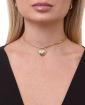 Mix de bijuterias e semi jóias douradas Gunh