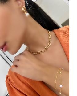 Mix de bijuterias douradas Pryncess
