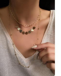 Mix de colares dourados Diaz