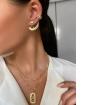 Mix de bijuterias e semijóias douradas Quinn