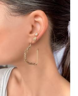 Mix de bijuterias e semijóias douradas Esperanza