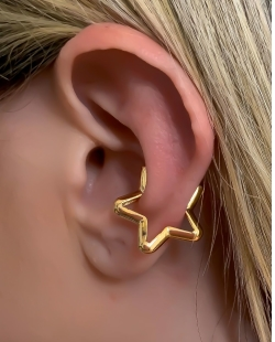 Piercing fake dourado Sasha