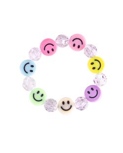 Pulseira smiley candy cristal