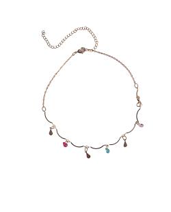 Mix de bijuterias Borboletas e Zircônias coloridas