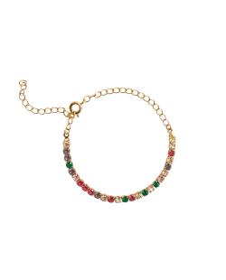Mix de bijuterias Zircônias coloridas