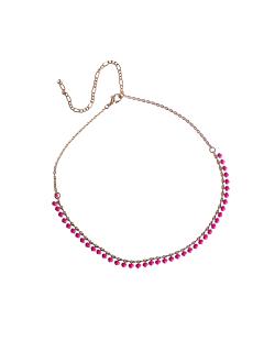 Mix de bijuterias esmaltadas Rosa e Corações