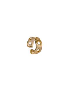 Piercing MB Semi joia dourado Elos