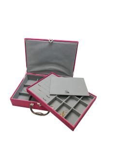 Maleta para bijuterias grande pink