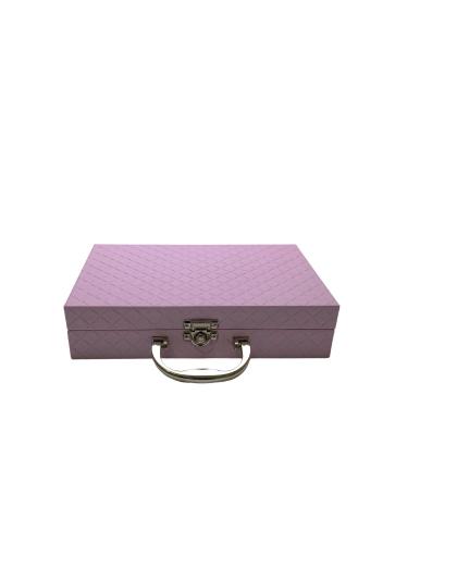 Maleta para bijuterias pequena lilás