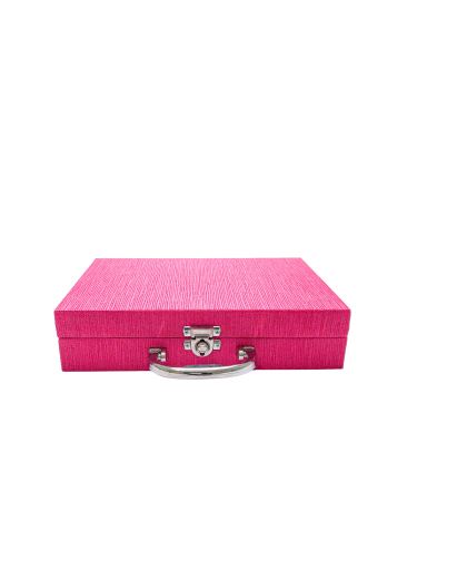 Maleta para bijuterias pequena pink